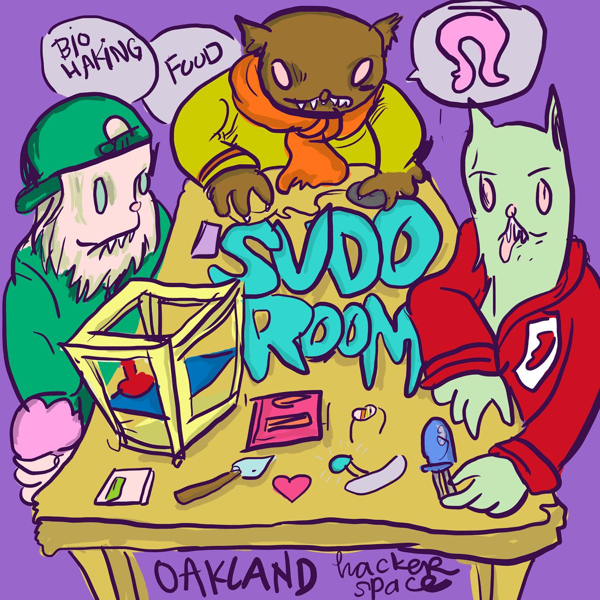 Comics at SudoRoom