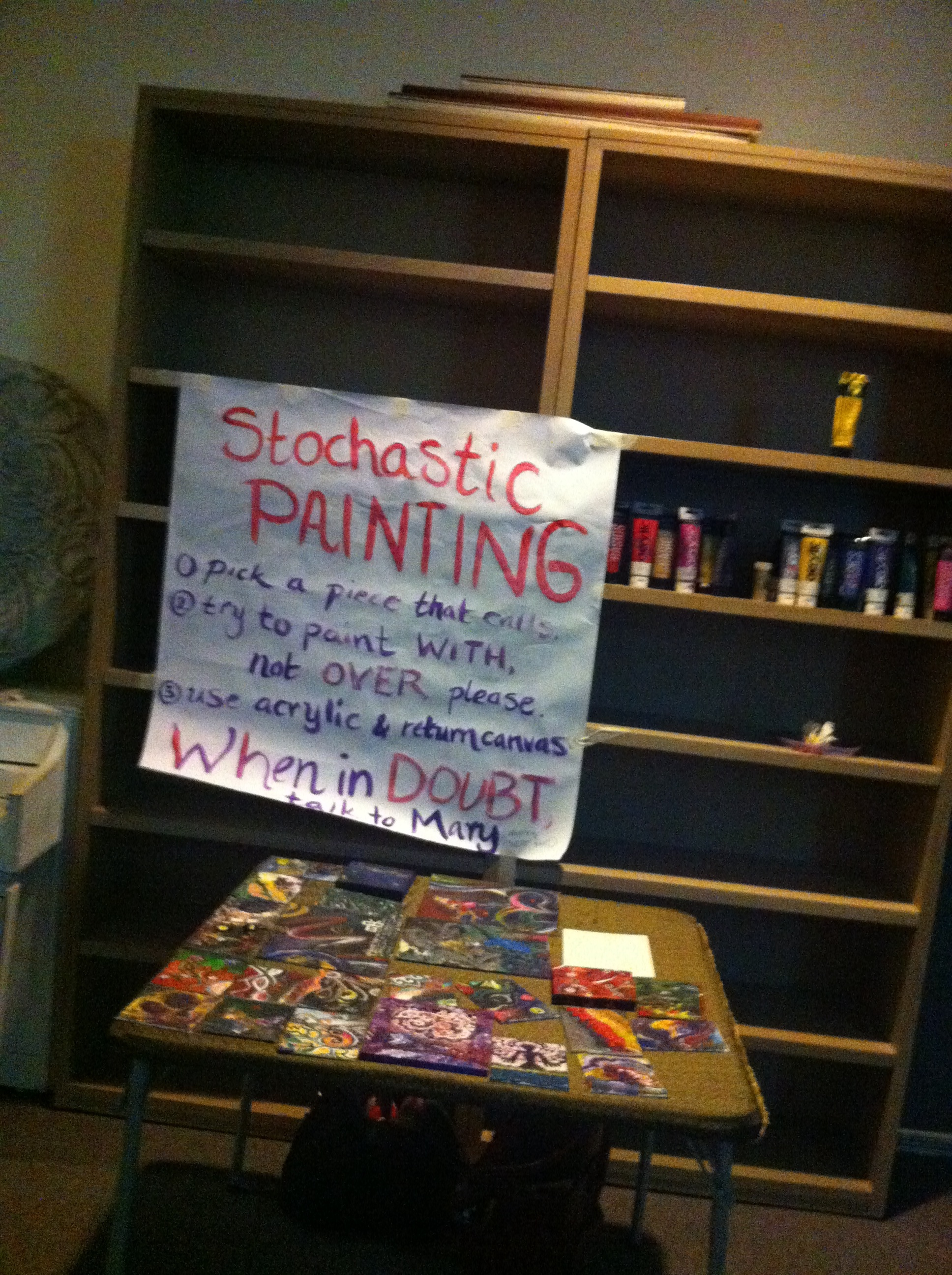 Stochaistic Painting