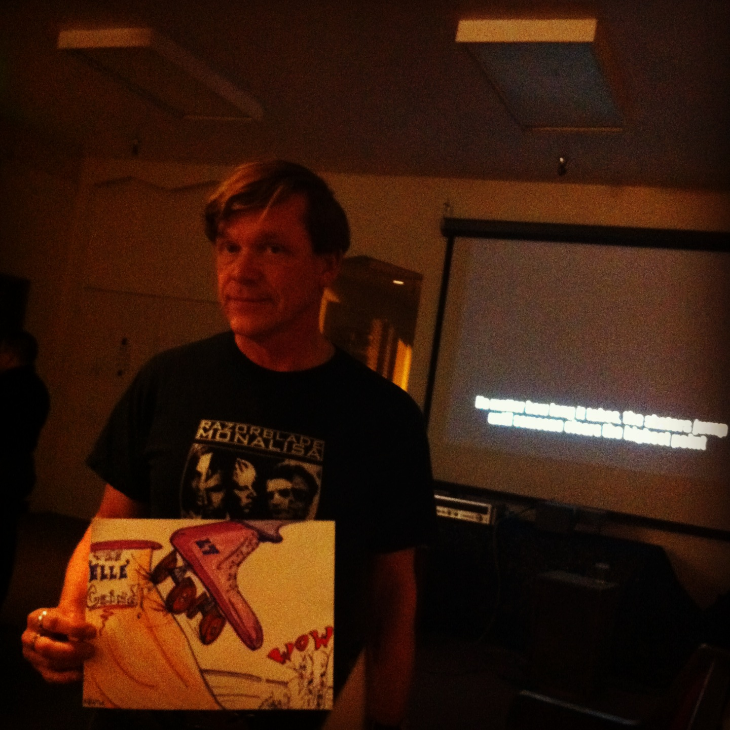 Kevin shows off his Elle Seven Drawing