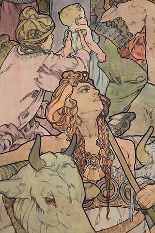 Learn how this picture relates to Set Theory Attribution: https://commons.wikimedia.org/wiki/File:Prague_Praha_2014_Holmstad_flott_Mucha_Alfons_Alphonse_-_8.jpg#mediaviewer/File:Prague_Praha_2014_Holmstad_flott_Mucha_Alfons_Alphonse_-_8.jpg