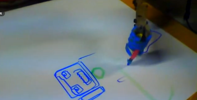 Drawing with the Robot Arm