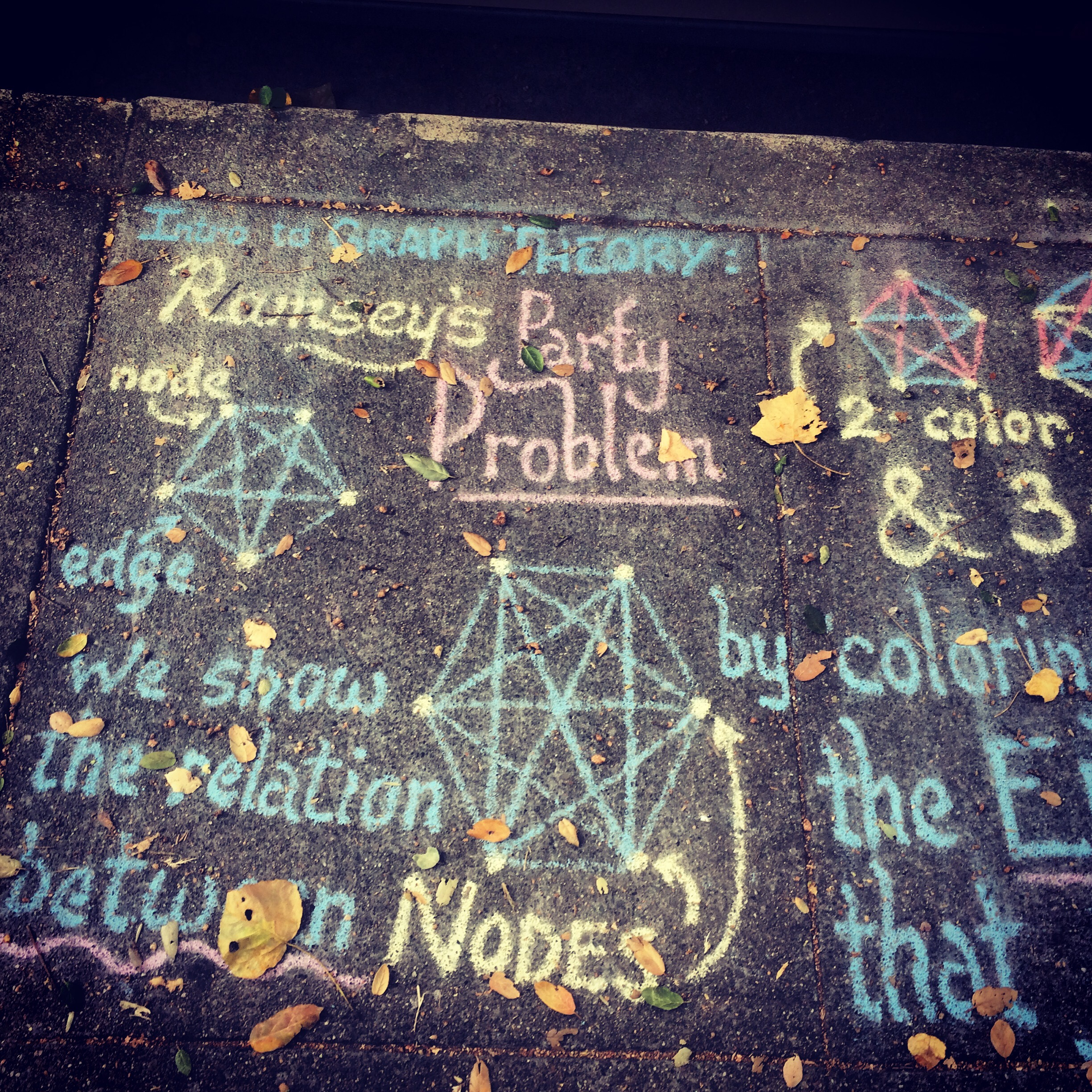 SudoScience – Sidewalk Algorithm Lesson from Anthony Repetto