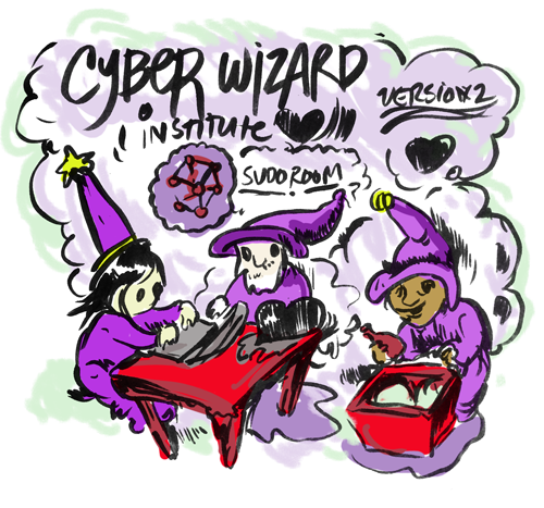 Cyberwizard Institute – First Weekend Cartoon report