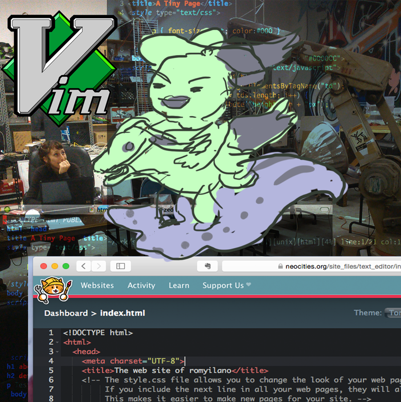 Cyberwizard Institute – Adventures in HTML & VIM