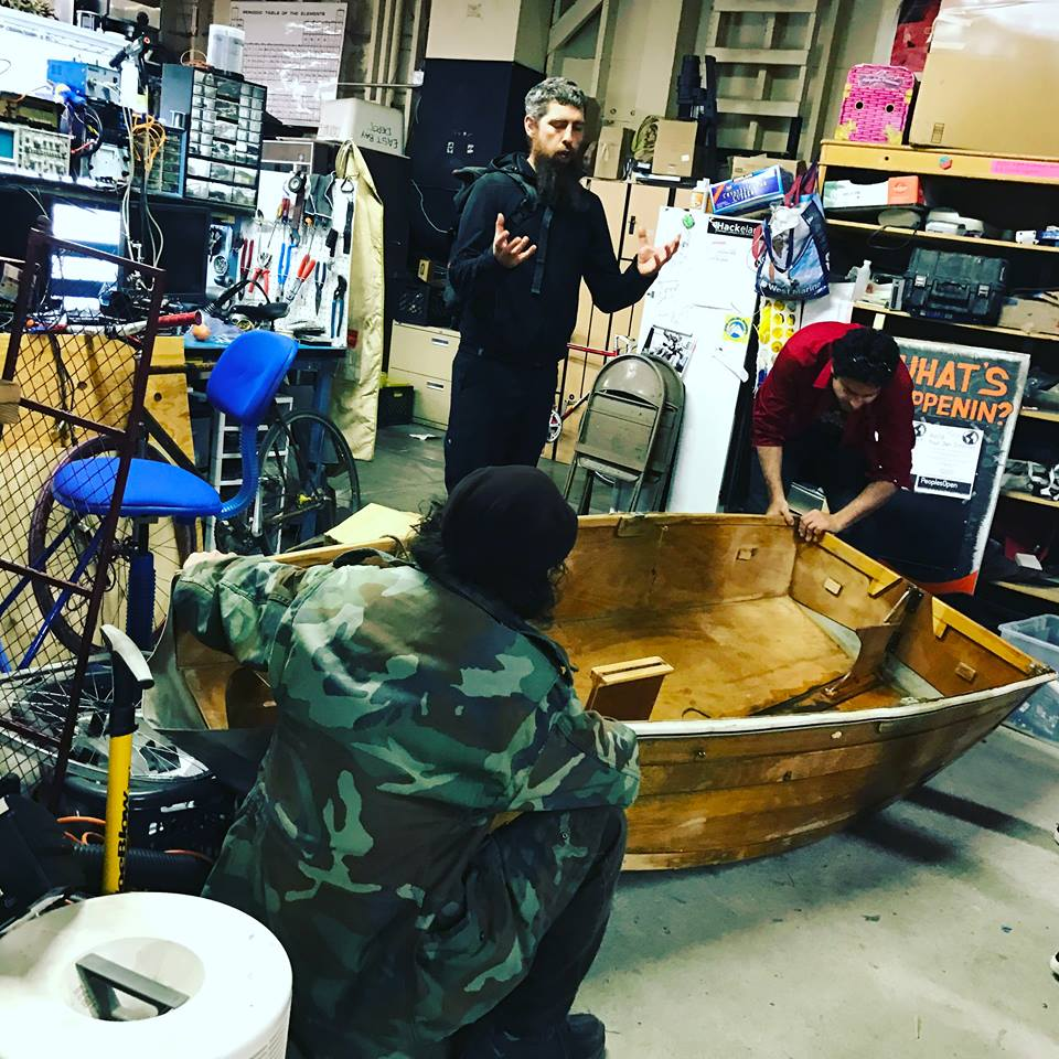 Boat hacking at SudoRoom!